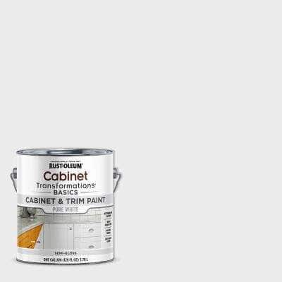1 gal. Pure White Cabinet Paint