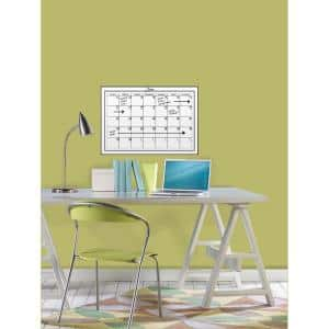 17.5 in. x 24 in. Dry Erase Monthly Calendar Wall Decal