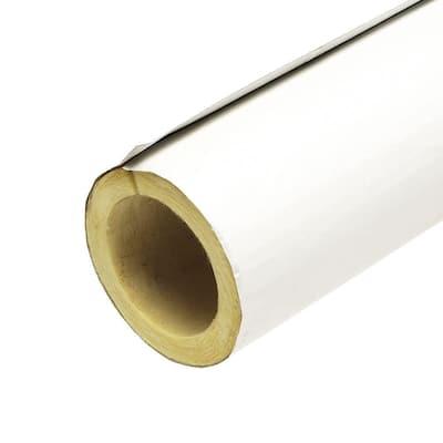 2 in. x 3 ft. Fiberglass Self-Sealing Pre-Slit Pipe Cover