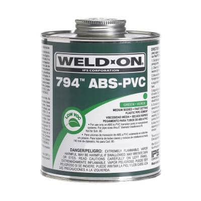 16 oz. ABS-PVC 794 Transition Cement in Green