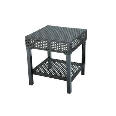 Fenton Wicker Outdoor Patio Side Table