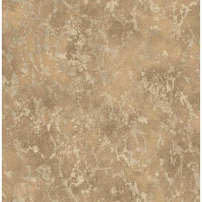 Imogen Copper Faux Marble Copper Wallpaper Sample