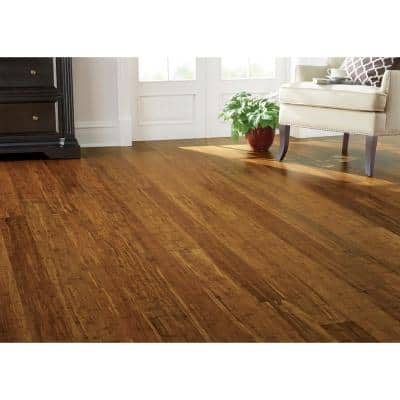 Strand Woven Harvest 3/8 in. T x 4.92 in. W x 36-1/4 in. L Solid Bamboo Flooring(24.76 sq. ft. / case )