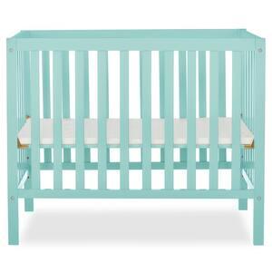 Edgewood 4-in-1 Mint Convertible Mini Crib