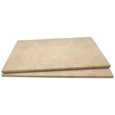 13 in. x 24 in. Petra Beige Porcelain Pool Coping (26-Pieces/56.33 sq. ft./Pallet)