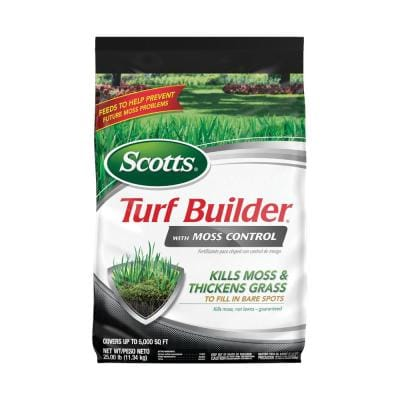 Turf Builder 25 lbs. 5,000 sq. ft. Lawn Fertilizer with Moss Control