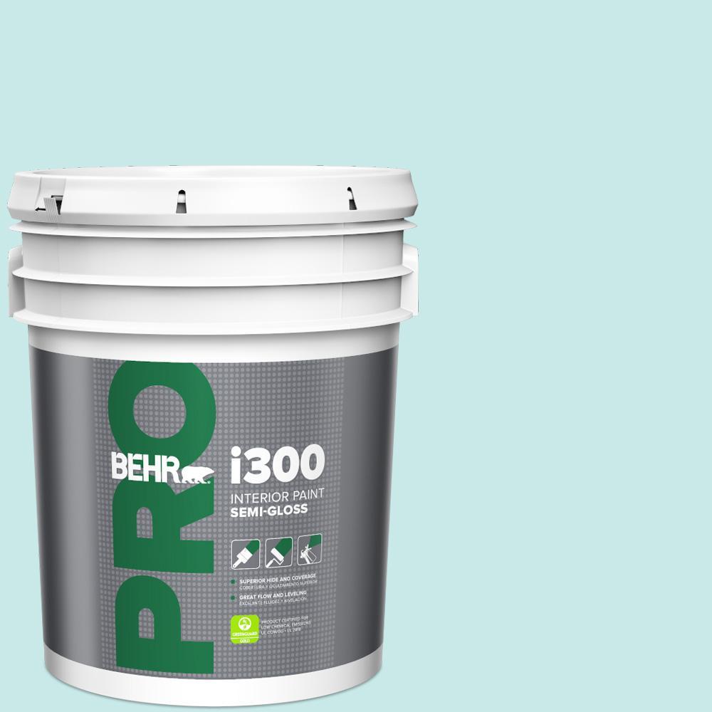 Mildew Resistant Turquoise Aqua 5 Gallon Paint Colors Paint The Home Depot