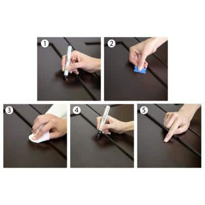 Cabinet Touch-Up Repair Kit in Espresso