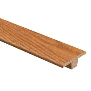 Oak Golden Wheat Hand Scraped 3/8 in. Thick x 1-3/4 in. Wide x 94 in. Length Hardwood T-Molding