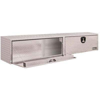 Buyers Products Company - 88 Diamond Plate Aluminum Full Size Top Mount Truck Tool Box