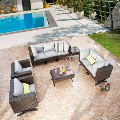 33 4 Patio Conversation Sets Outdoor Lounge Furniture The Home Depot