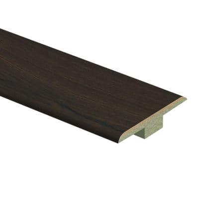 Vintage Tobacco Oak 7/16 in. Thick x 1-3/4 in. Wide x 72 in. Length Laminate T-Molding