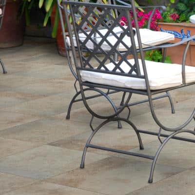 16 in. x 16 in. Square Tuscany Beige Travertine Paver Tile (60-Pieces/106.8 sq. ft./Pallet)