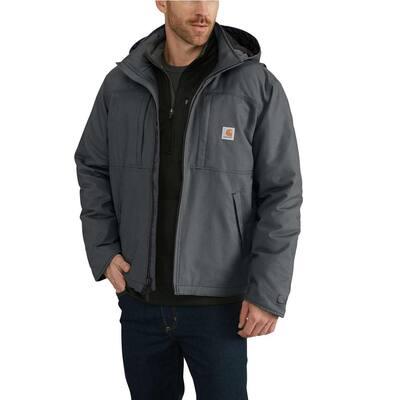 Men's Regular Large Shadow Cotton/Polyester Full Swing Cryder Jacket