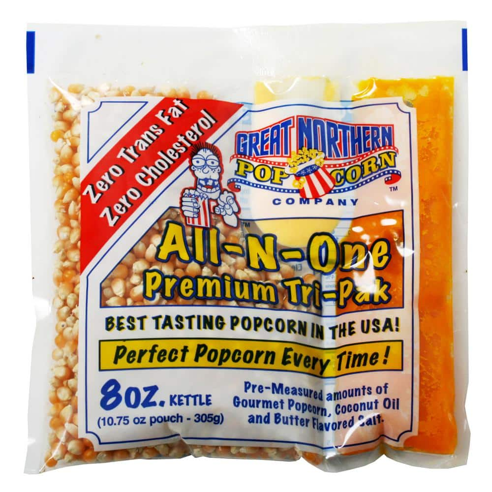 Great Northern 8 Oz All In One Premium Popcorn 40 Pack Hwd630180 The Home Depot