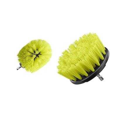 Medium Bristle Brush Multi-Purpose Cleaning Kit (2-Piece)