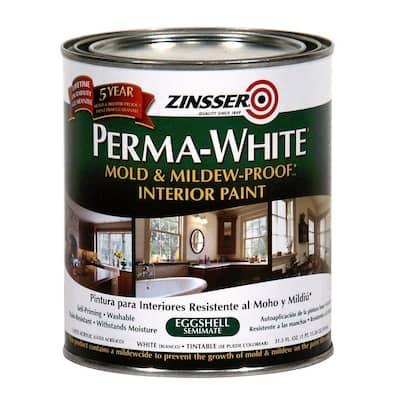 Perma-White 1 qt. Mold & Mildew-Proof Eggshell Interior Paint (6-Pack)