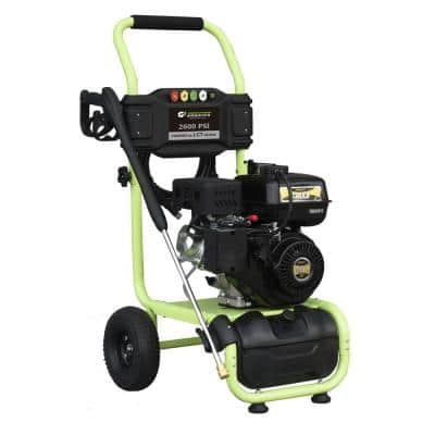 2600 psi 2.0 GPM Cam Pump Gas Pressure Washer