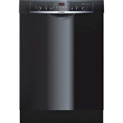 Ascenta 24 in. Black Front Control Tall Tub Dishwasher with Hybrid Stainless Steel Tub, 50 dBA