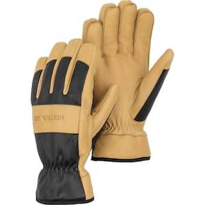 Large Winter Pro Goatskin Winter Work Gloves