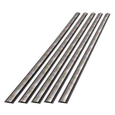 Crosshatch Silver 47 in. Vinyl Divider Trim(5-Pack)