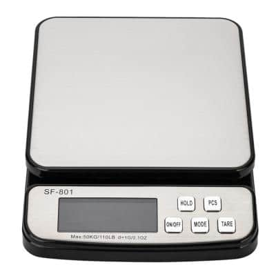 110 lbs. Portable Digital Electronic Scale Shipping Postal Scales