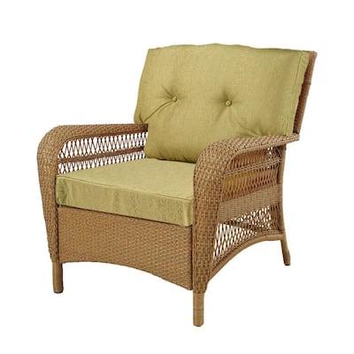 Charlottetown Green Bean Outdoor Swivel Chair Replacement Cushion