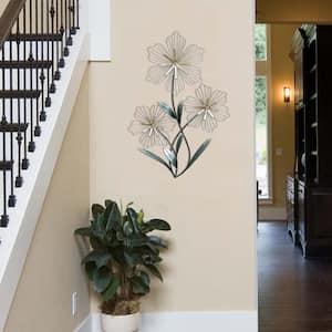 Tri-Flower Wall Decor