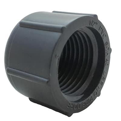 1/2 in. FPT Grey Cap