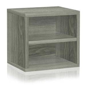 12.6 in. H x 13.4 in. W x 11.2 in. D Gray Recycled Materials 1-Cube Organizer