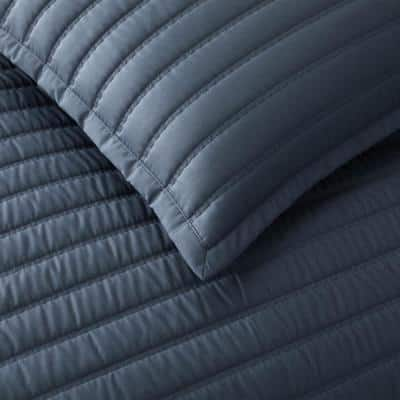 Legends Hotel™ Wrinkle-Free Striped Cotton Sateen Coverlet