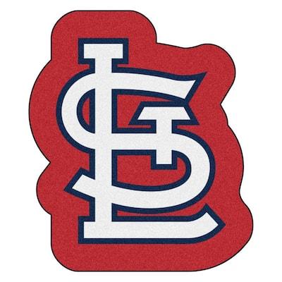 MLB - St. Louis Cardinals 34.8 in. x 30 in. Indoor Area Rug Mascot Mat