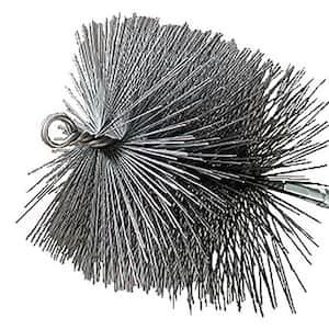 12 in. Square Wire Chimney Brush, 1/4 in. NPT