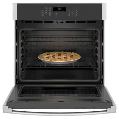 30 in. Smart Single Electric Wall Oven Self-Cleaning in Stainless Steel