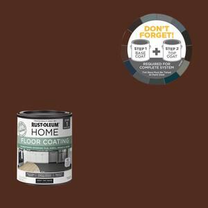1 qt. Espresso Interior Floor Base Coating
