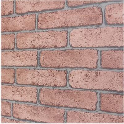 brick-like Paper Peelable Wallpaper (Covers 50 sq. ft.)