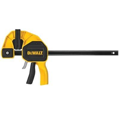 12 in. 600 lb. Trigger Clamp w/3.75 in. Throat Depth