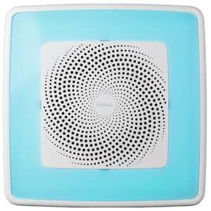 ChromaComfort 110 CFM Ceiling Bathroom Exhaust Fan w/ Customizable Multi-Color LEDs and Smart Phone App