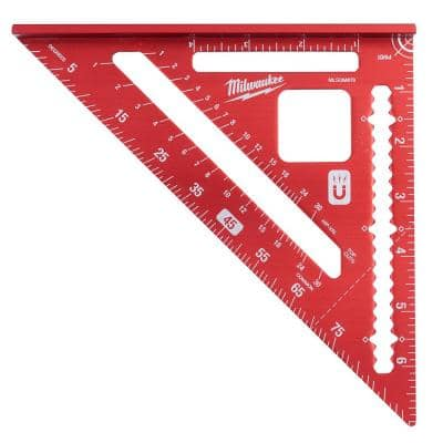 7 in. Magnetic Rafter Square