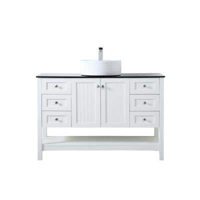 Vessel Single Sink Bathroom Vanities With Tops Bathroom Vanities The Home Depot