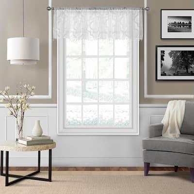Montego Sheer Beaded Window Valance