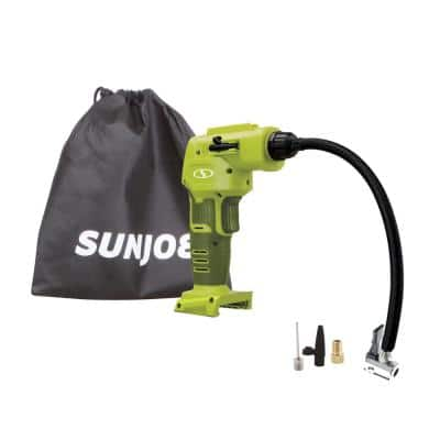 24-Volt Cordless Portable Inflator with Nozzle Adapters (Tool Only)