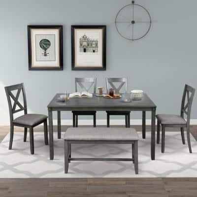 Gray Dining Room Sets Kitchen, Gray Dining Room Furniture