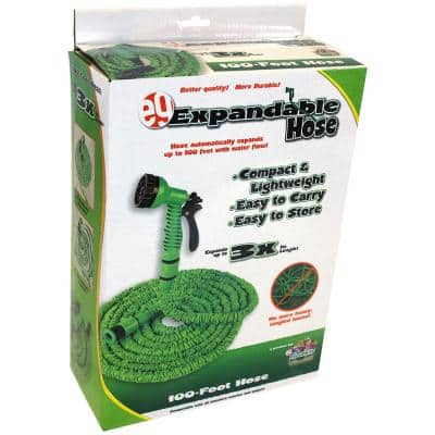 3/4 in. Dia x 100 ft. Standard Expandable Water Hose