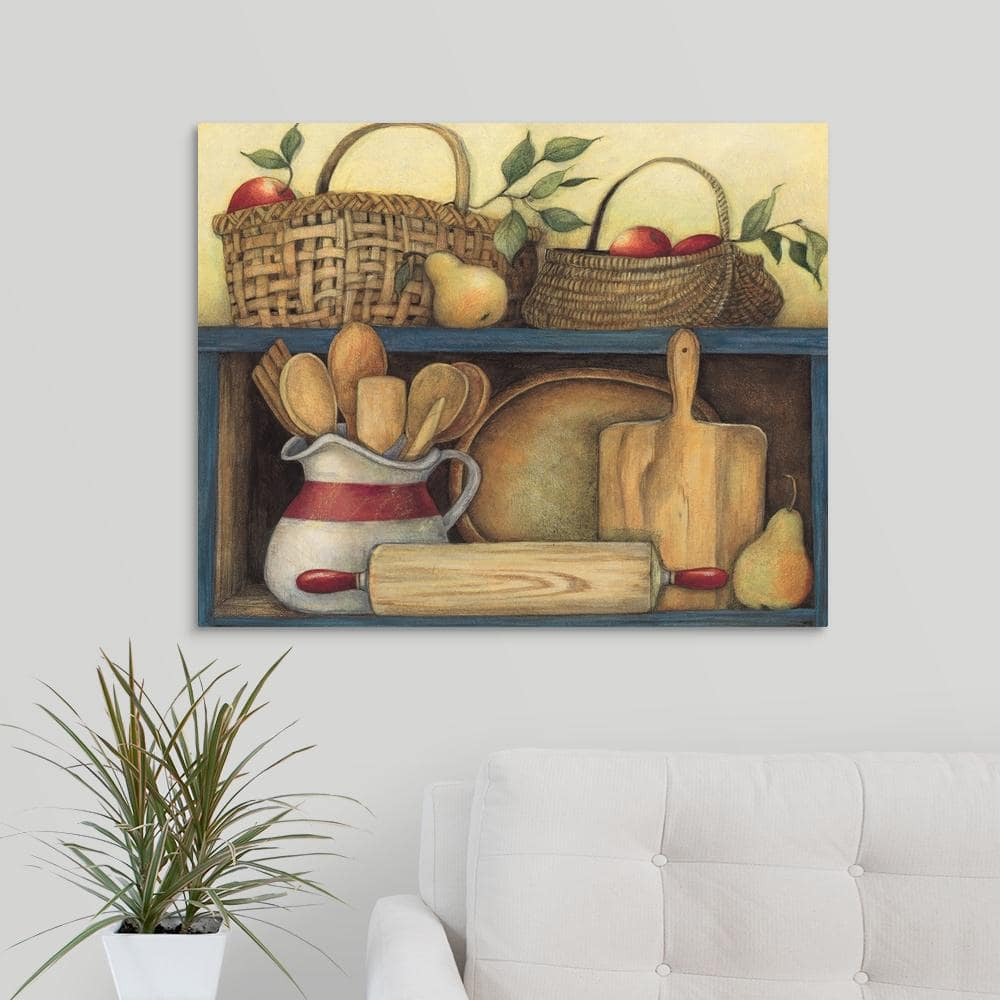 Greatbigcanvas Kitchen Pantry By Susan Winget Canvas Wall Art 2251014 24 30x24 The Home Depot