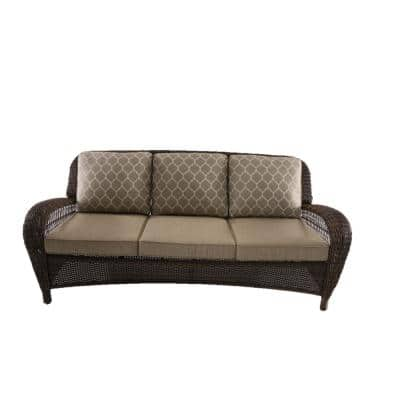 Beacon Park Toffee Replacement Outdoor Sofa Cushions