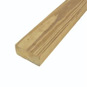 2 in. x 4 in. x 8 ft. #2 Prime Prime Pressure-Treated Lumber