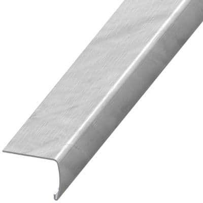 Ampezzo 7 mm Thick x 2 in. Wide x 94 in. Length Coordinating Vinyl Stair Nose Molding