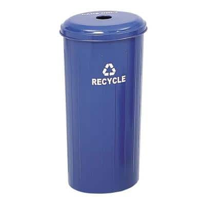 20 Gal. Commercial Recycling Receptacle with Lid