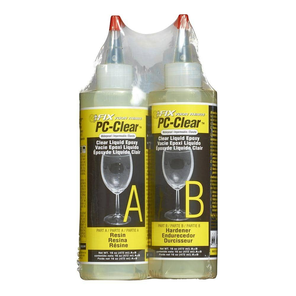 Pc Products 16 Oz Pc Clear Liquid Epoxy 070161 The Home Depot